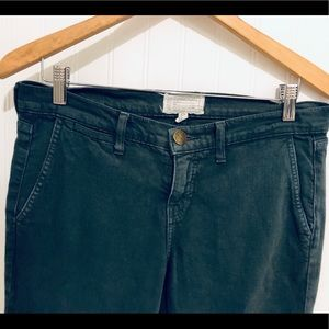 Current/Elliott Jeans - Current/Elliot army green trouser Jeans 30
